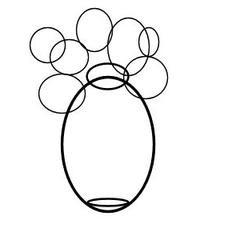 Cara Menggambar Vas Yang Indah Dengan Bunga Cara Menggambar Vas